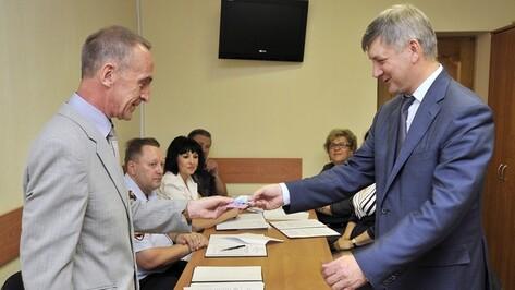 Александр Гусев зарегистрирован кандидатом в мэры Воронежа