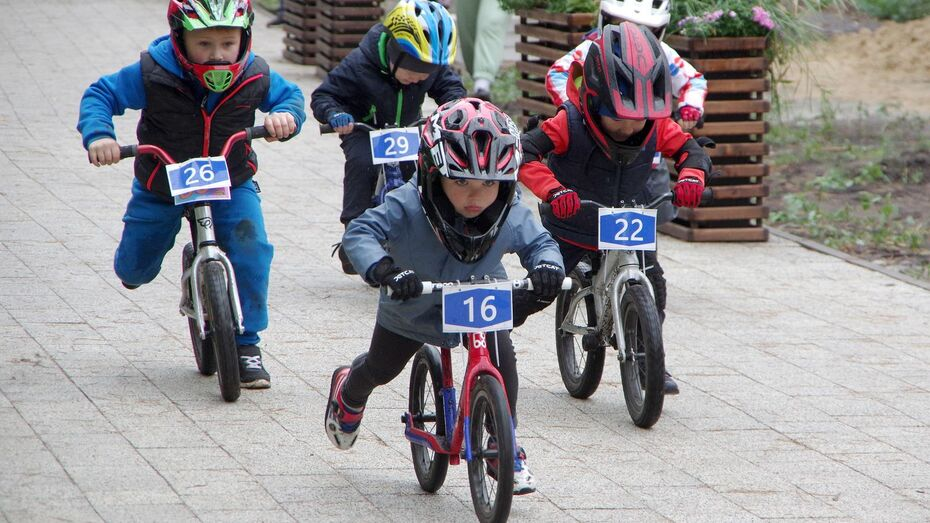 Маленькие чемпионы. В воронежском парке «Дельфин» прошли гонки на беговелах и велосипедах