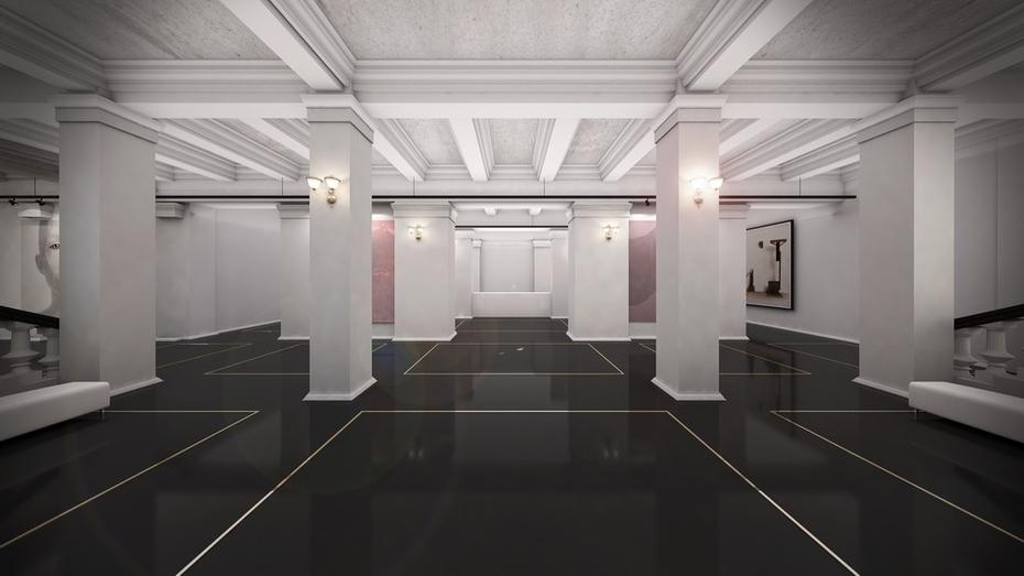 Здание воронежской Академии искусств станет черно-белым