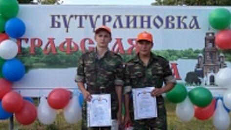 Юноши из Репьевского района заняли первое место на областном первенстве по спортивному туризму