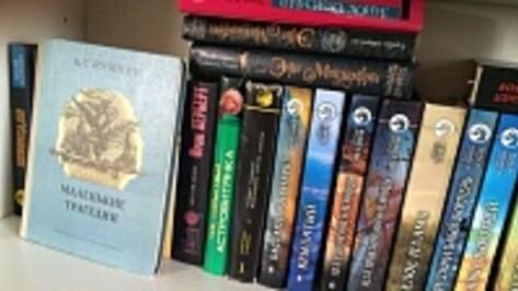 Жители Рамонского района подарили сельской библиотеке более 1500 книг