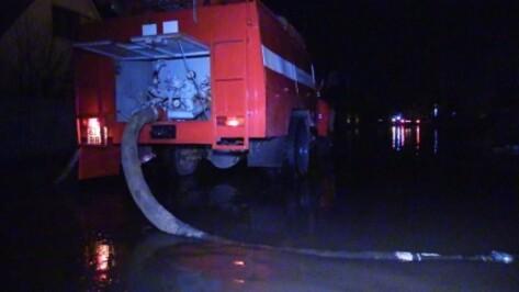 Под Воронежем талая вода затопила 5 приусадебных участков