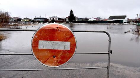 В Калачеевском районе Воронежской области объявили режим ЧС из-за паводка