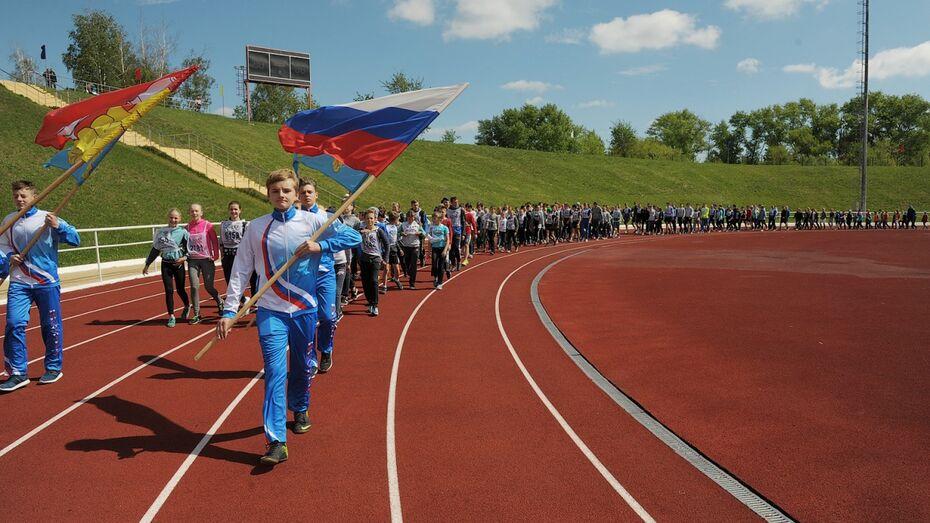 Второй областной фестиваль бега под Воронежем собрал более 200 участников