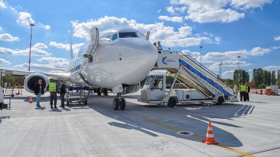 СК начал проверку после экстренной посадки самолета в аэропорту Воронежа