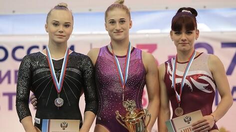 Воронежская гимнастка стала 2-й на Кубке России