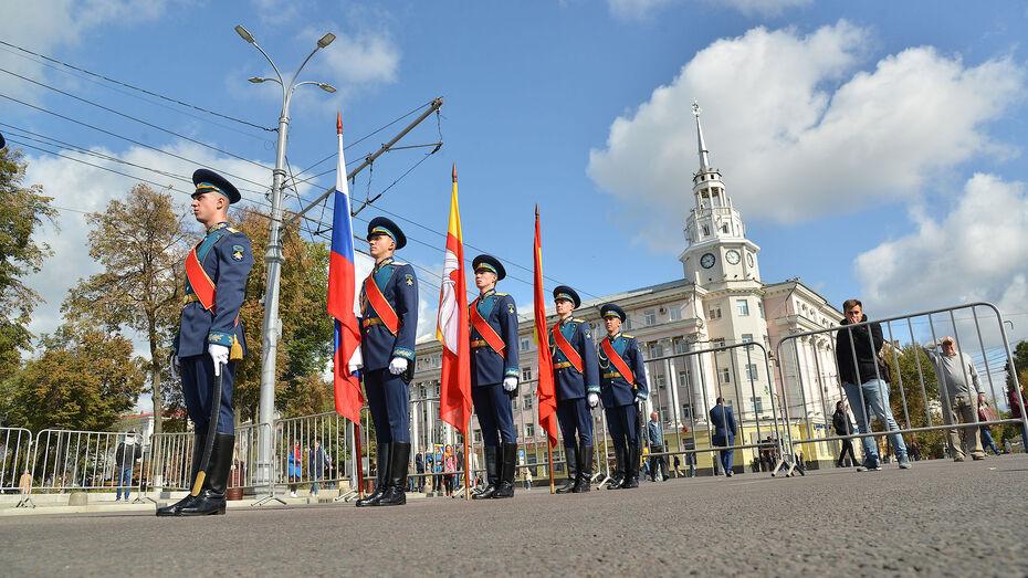 Полмиллиона рублей потратят в Воронеже на охрану площади Ленина в День города