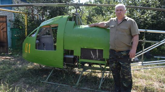 Житель Воронежской области собрал одноместный вертолет
