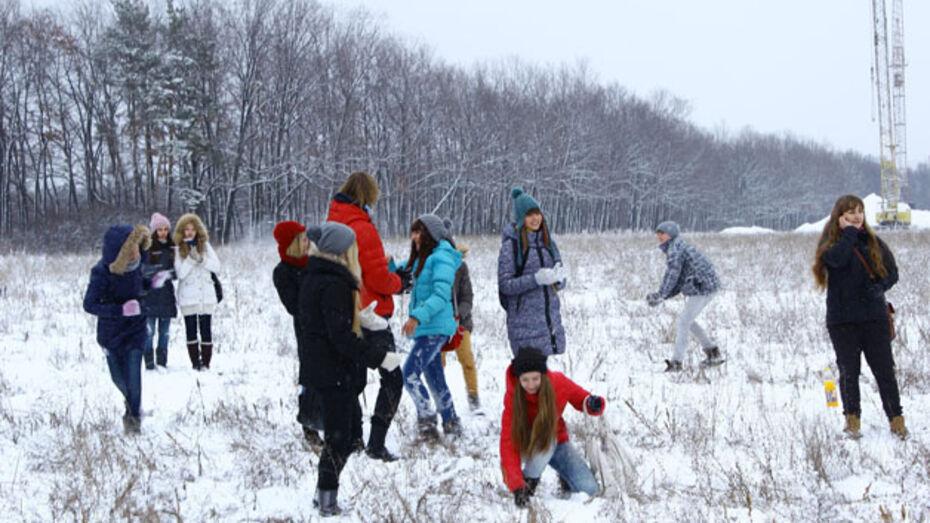 Воронеж станет полем снежной битвы