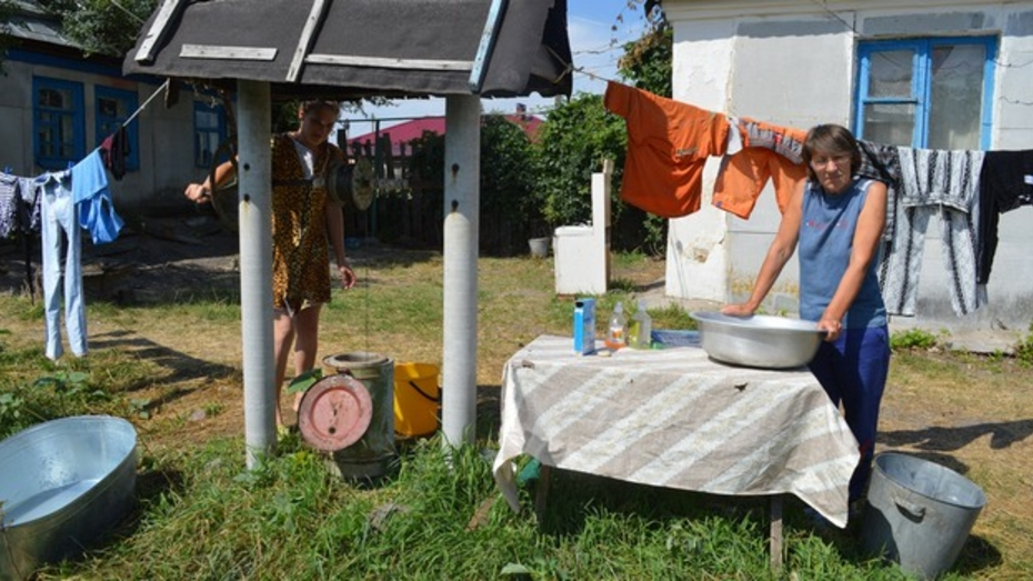 В Репьевском районе переселенцы с Украины селятся у родственников и благотворителей