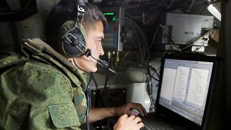 В Воронежской области военные связисты поднялись по учебной тревоге