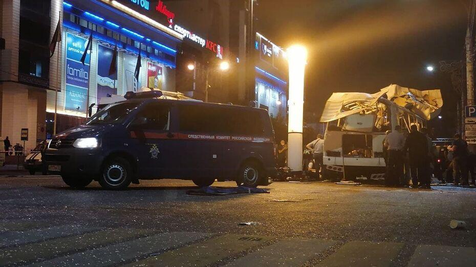 Скончалась одна из пострадавших при взрыве автобуса в Воронеже