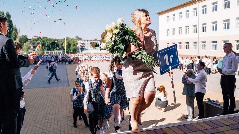 В Нововоронеже атомщики подарили подшефной школе спортивное оборудование