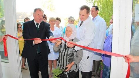 В Новой Усмани после капитального ремонта открылась центральная районная больница