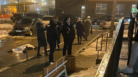 Упавший на коляску с ребенком в воронежском Шилово оказался 20-летним студентом