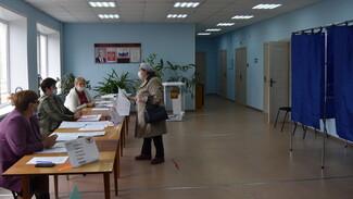 На избирательных участках в Поворинском районе за 2 дня выборов не выявили нарушений