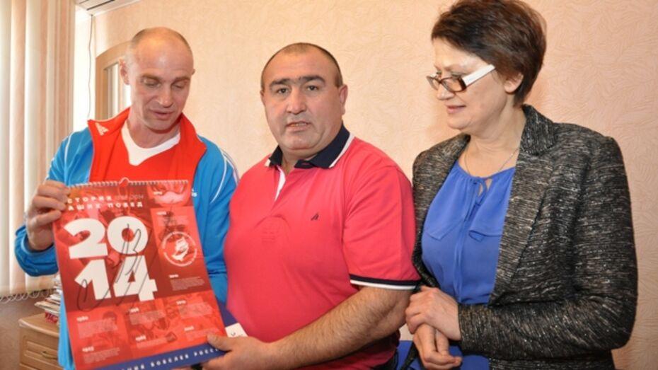 В Павловске побывал бывший главный тренер сборной команды России по бобслею Олег Сухорученко