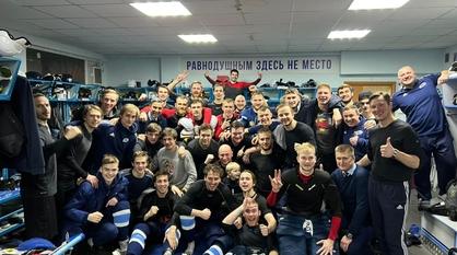 Воронежский «Буран» завершил домашнюю серию победой