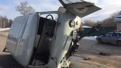 Водитель УАЗа при обгоне спровоцировал смертельное ДТП в Воронежской области