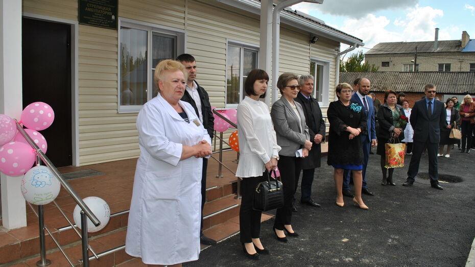 В семилукском поселке открыли новую врачебную амбулаторию