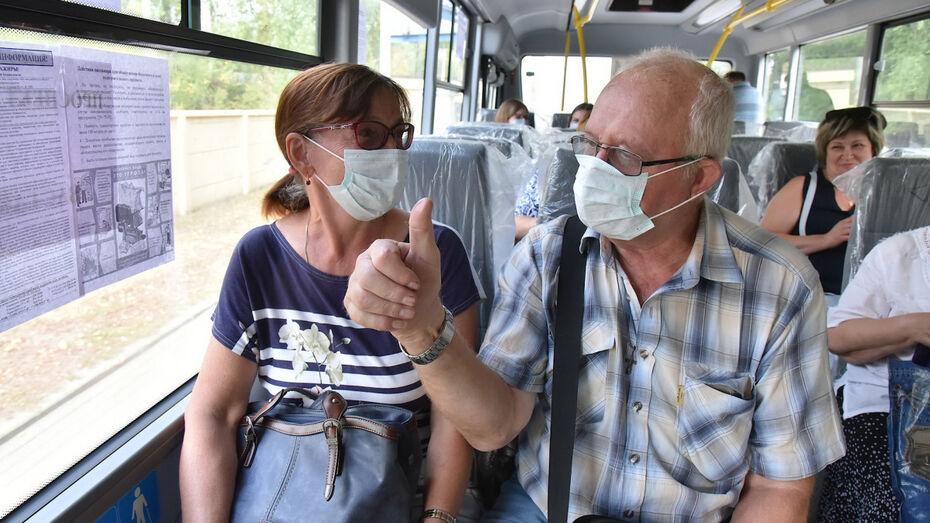 Воронежцы проголосовали за общественный транспорт вместо авто