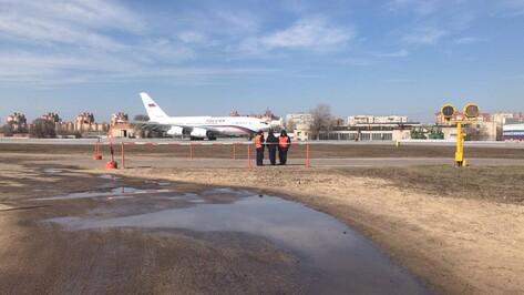 В Воронеже состоялся первый полет нового «президентского» Ил-96-300