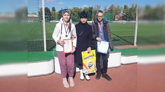 Борисоглебская спортсменка выиграла «золото» областных соревнований по легкой атлетике