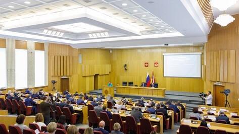 Воронежская областная Дума приняла блок экономических законов