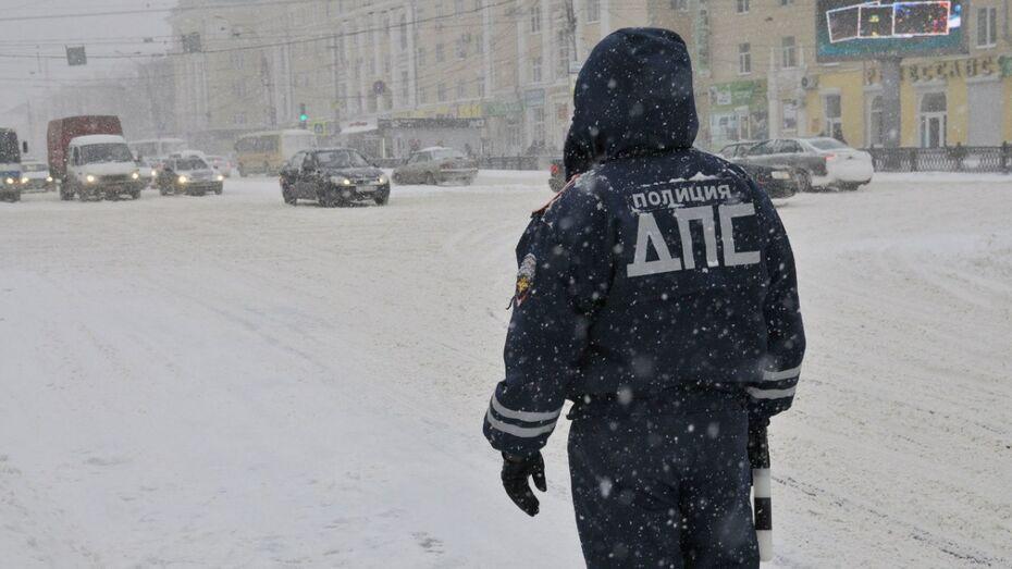 В конце новогодних каникул полиция поймала 27 пьяных водителей в Воронежской области