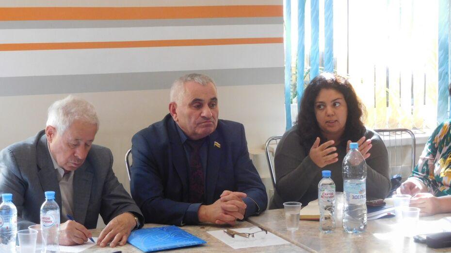 Члены Нацпалаты Воронежской области призвали полицию к более тесному сотрудничеству