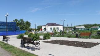 В петропавловском селе Новобогородицкое в сквере установят детскую площадку