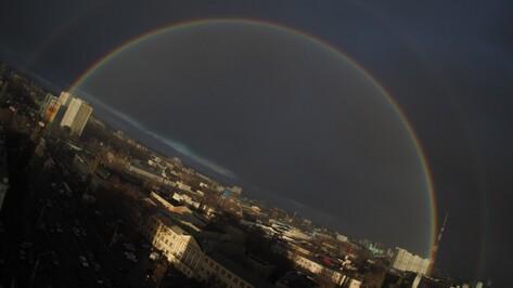 Взгляд из соцсетей. Воронежская двойная радуга в ноябре