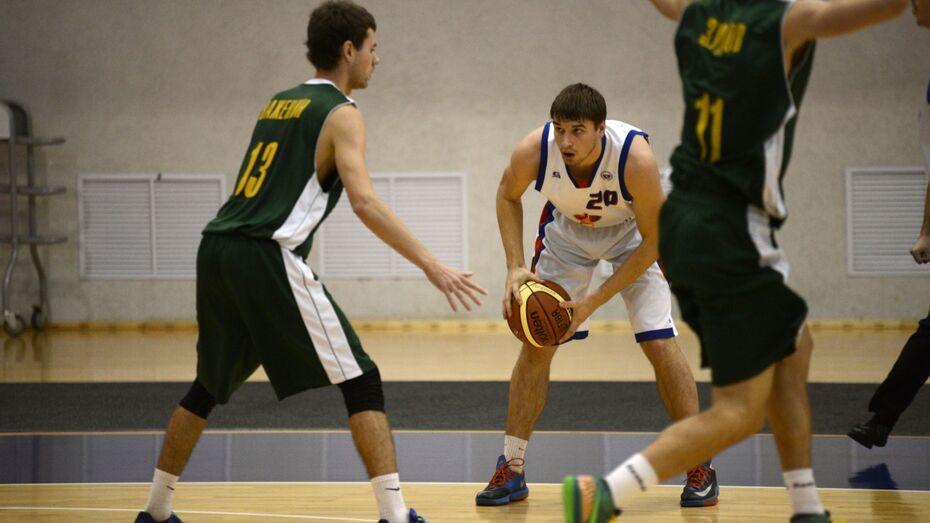 Воронежские баскетболисты победили «Русичей»