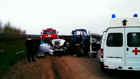 Под Воронежем родные погибшей в ДТП с трактором начали поиски свидетелей