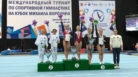 Гимнастка из Воронежа завоевала «золото» на международных соревнованиях