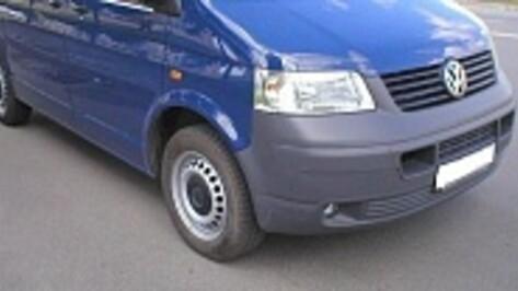 В Воронеже на Ростовской минивэн Volkswagen сбил школьника