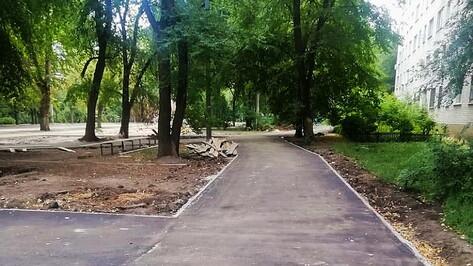 Новый сквер в Коминтерновском районе Воронежа откроют осенью