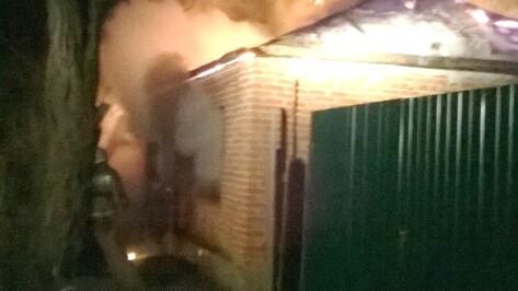 В Воронежской области при пожаре в доме погиб квартирант