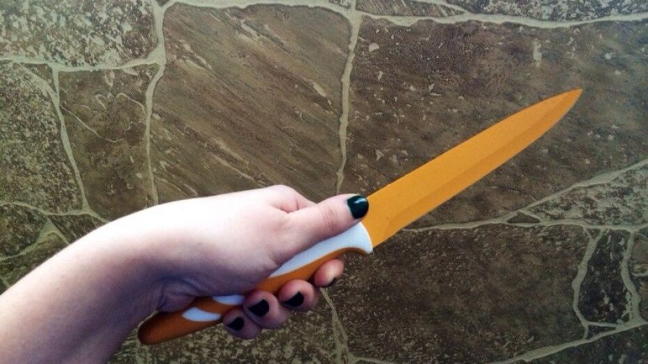 В Семилукском районе 27-летняя девушка убила сожителя ножом