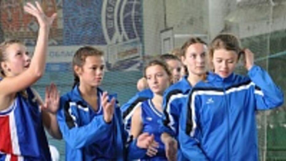 Эртильские баскетболистки стали чемпионками области