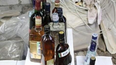 Воронежец привез в Липецк 4,5 тонны «левого» алкоголя