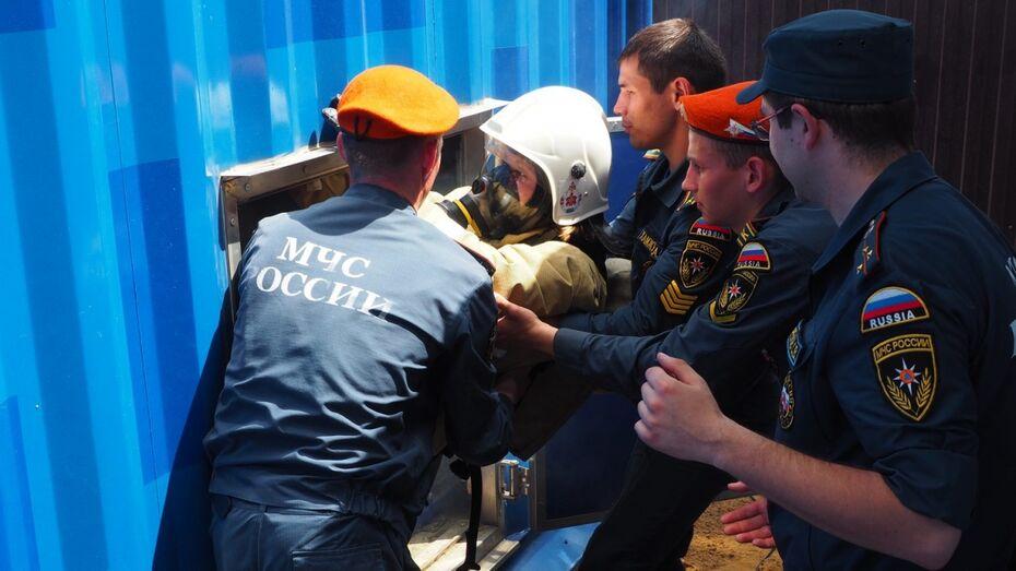 Как это работает. Подготовка пожарных в Воронежской области