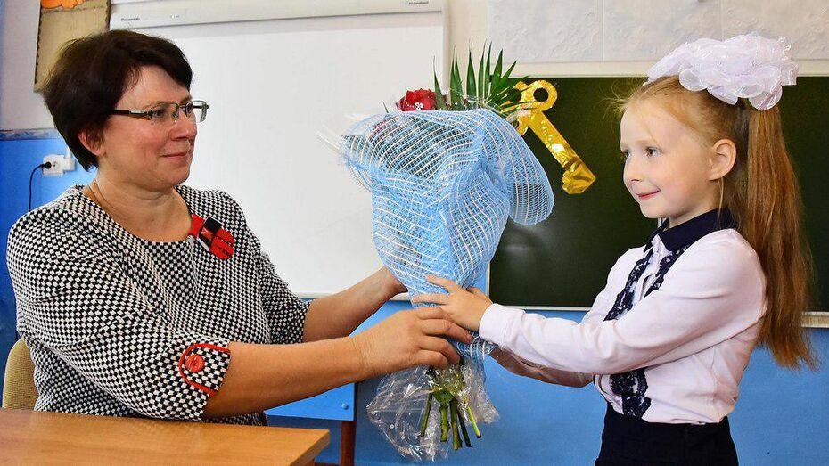 В бутурлиновском селе в первый класс пришла одна ученица