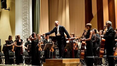Воронежская филармония открыла 90-й сезон концертом симфонического оркестра
