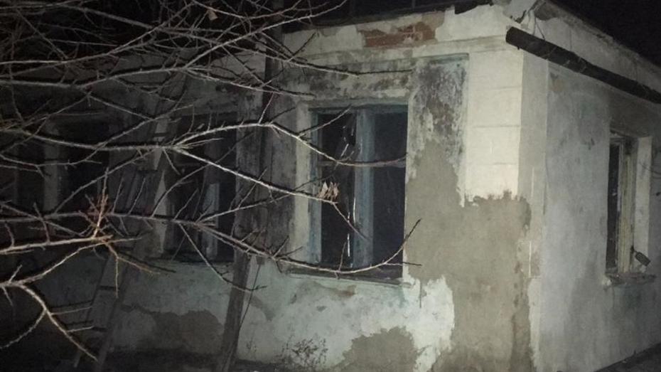 В сгоревшем в Воронежской области доме нашли тела 2 мужчин