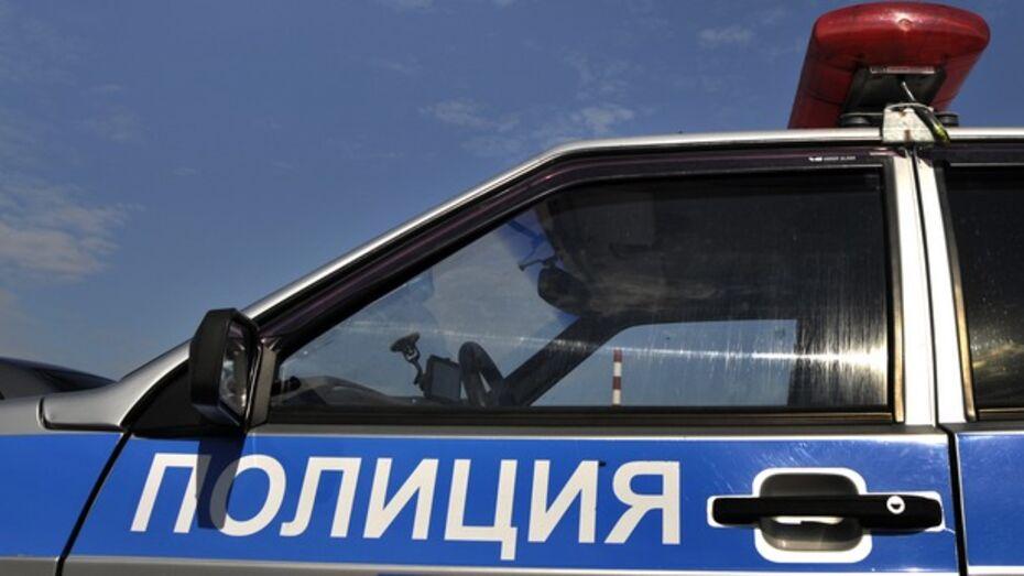 В центре Воронежа полицейский автомобиль столкнулся с «Ладой»