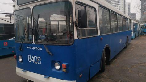 Общественники показали троллейбусы «Мосгортранса», которые передадут Воронежу