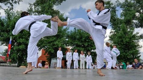 Воронежцев пригласили на бесплатные занятия по карате для взрослых
