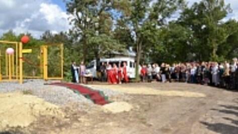 В самом отдаленном селе Грибановского района пустили газ