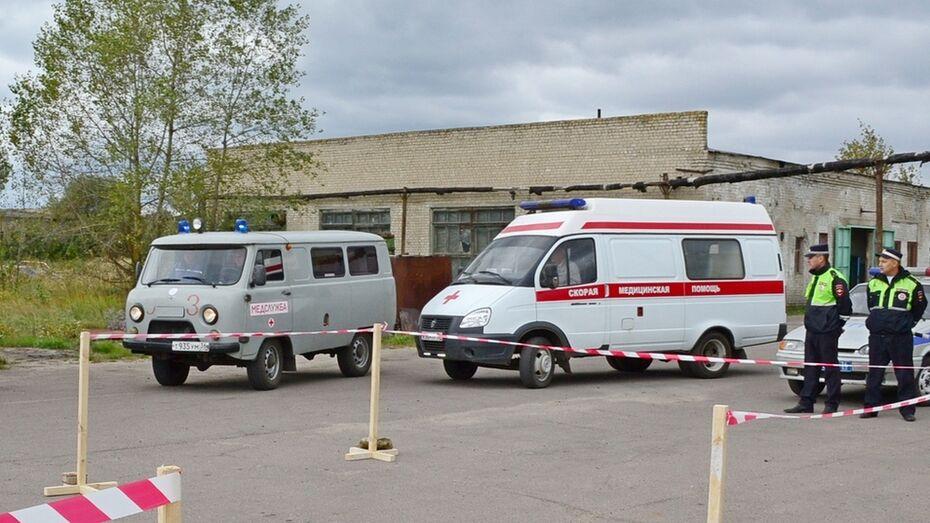В Павловском районе в аварии пострадала семья из Москвы
